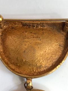 Line Vautrin Articulate Bronze Brooch Pergatoire by Line Vautrin - 955545