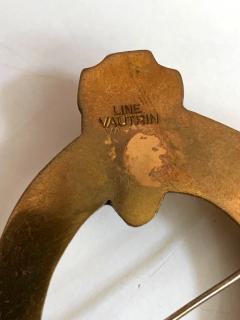 Line Vautrin Bronze Brooch St Eloi by Line Vautrin - 955548