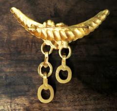 Line Vautrin Bronze Brooch by Line Vautrin - 1079403