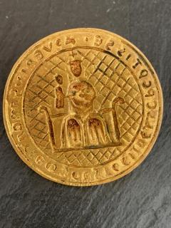 Line Vautrin French Gilt Bronze Brooch by Line Vautrin - 1201313