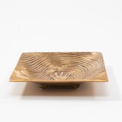 Line Vautrin French Line Vautrin Gilded Bronze Pocket Emptier Empreinte  - 1315806