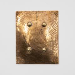 Line Vautrin French Line Vautrin Gilded Bronze Pocket Emptier Empreinte  - 1315810
