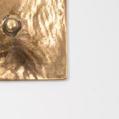 Line Vautrin French Line Vautrin Gilded Bronze Pocket Emptier Empreinte  - 1315812