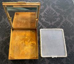 Line Vautrin French Sculpted Bronze Box Line Vautrin Day and Night - 1967486