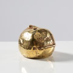 Line Vautrin Gilded bronze box Lhomme daffaires  - 1690720