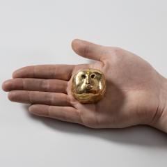 Line Vautrin Gilded bronze box Lhomme daffaires  - 1690725