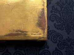 Line Vautrin Large French Sculpted Bronze Box by Line Vautrin - 1896091