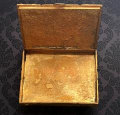 Line Vautrin Large French Sculpted Bronze Box by Line Vautrin - 1896092