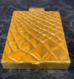 Line Vautrin Large and Rare Gilt Bronze Box Line Vautrin - 2076931