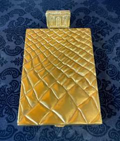 Line Vautrin Large and Rare Gilt Bronze Box Line Vautrin - 2076932