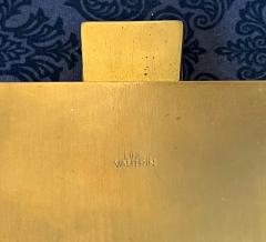 Line Vautrin Large and Rare Gilt Bronze Box Line Vautrin - 2076935