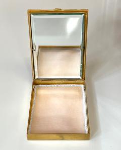 Line Vautrin Large and Rare Gilt Bronze Box Line Vautrin - 2076937