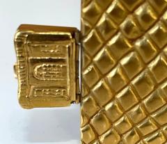 Line Vautrin Large and Rare Gilt Bronze Box Line Vautrin - 2076940