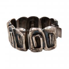 Line Vautrin Line Vautrin France Icare Silvered Bronze Band Bracelet - 985939