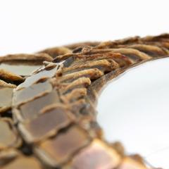 Line Vautrin Line Vautrin French Mirror Soleil A Pointes Dark Bronze Incrusted Mirrors - 1263234