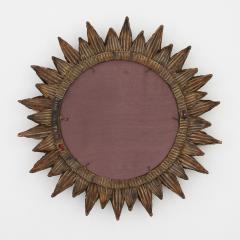 Line Vautrin Line Vautrin French Mirror Soleil A Pointes Dark Bronze Incrusted Mirrors - 1263236