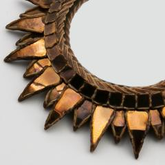 Line Vautrin Line Vautrin French Mirror Soleil A Pointes Dark Bronze Incrusted Mirrors - 1263239