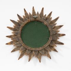 Line Vautrin Line Vautrin French Mirror Soleil A Pointes Dark gold Incrusted Mirrors - 1276118