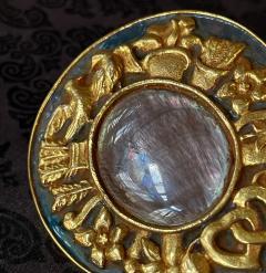 Line Vautrin Unusual French Gilt Bronze Box Line Vautrin - 2076892