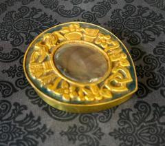 Line Vautrin Unusual French Gilt Bronze Box Line Vautrin - 2076893