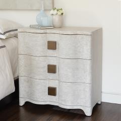 Linen Bedside Chest - 1694271