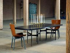 Link Dining Table Wood and Steel by AKMD Collection - 1468200
