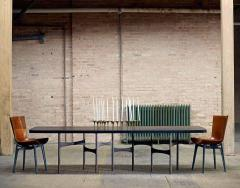 Link Dining Table Wood and Steel by AKMD Collection - 1468201