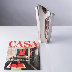 Lino Sabattini Alaska Silver Plated Vase by Lino Sabattini for Sabattini - 786952