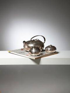 Lino Sabattini Boule Tea Set by Lino Sabattini for Christofle - 1148959