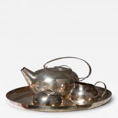Lino Sabattini Boule Tea Set by Lino Sabattini for Christofle - 1149164
