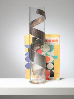 Lino Sabattini Large Vase by Lino Sabattini for Sabattini Argenteria - 1245682