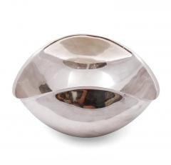 Lino Sabattini Lino Sabattini Signed Sculptural Silver Plate Centrepiece Bowl - 1090225