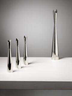 Lino Sabattini Set of Four Cardinale Vases by Lino Sabattini for Christofle - 1392776