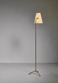 Lisa Johansson Pape Lisa Johansson Pape Brass Floor Lamp for Orno Finland 1950s - 755916