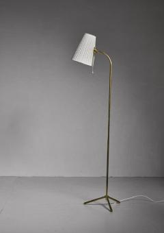 Lisa Johansson Pape Lisa Johansson Pape Brass Floor Lamp for Orno Finland 1950s - 755917