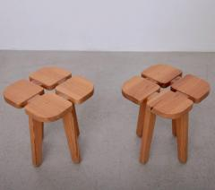 Lisa Johansson Pape One of Two Pairs of Lisa Johansson Pape Stools Finland 1950 - 532523