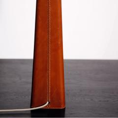 Lisa Johansson Pape Tall Leather wrapped Table Lamp by Lisa Johansson Pape - 1925476
