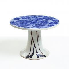 Lisa Larson LISA LARSON UNIQUE CERAMIC TABLE LEGS LEAVES GUSTAVSBERG SWEDEN - 1014927