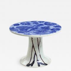 Lisa Larson LISA LARSON UNIQUE CERAMIC TABLE LEGS LEAVES GUSTAVSBERG SWEDEN - 1016615