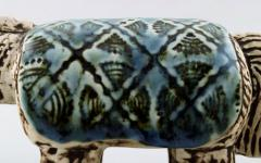 Lisa Larson Rare varan lizard in ceramics - 1373553