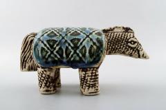 Lisa Larson Rare varan lizard in ceramics - 1373566