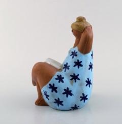 Lisa Larson Stoneware figure Emma  - 1321432