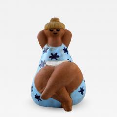 Lisa Larson Stoneware figure Emma  - 1324260