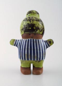 Lisa Larson Stoneware figure Kalle  - 1373529