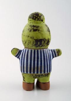 Lisa Larson Stoneware figure Kalle  - 1373531