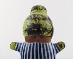 Lisa Larson Stoneware figure Kalle  - 1373533