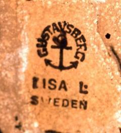 Lisa Larson Stoneware figure from All the worlds children Mei  - 1373255