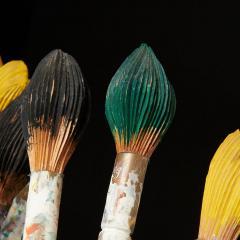 Livio De Marchi Bouquet of Paint Brushes Sculpture by Livio De Marchi - 1991475
