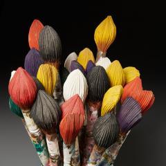 Livio De Marchi Bouquet of Paint Brushes Sculpture by Livio De Marchi - 1991477