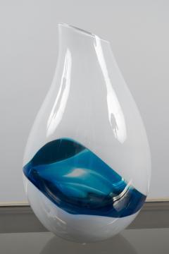Livio Seguso Glass Vase by Livio Seguso b 1930 Italy 1990s - 604503